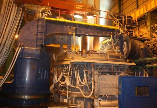 ثبت رکورد تولید شمش در فولاد بناب
