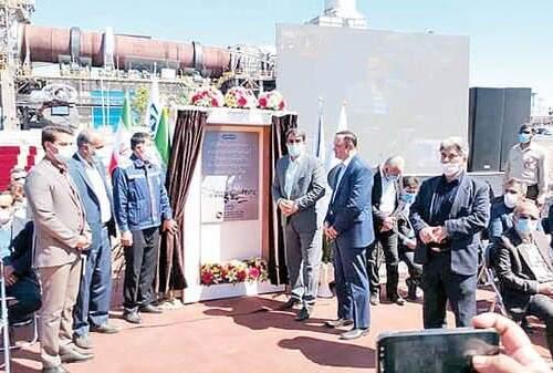 بزرگترین کارخانه گندلهسازی کشور افتتاح شد