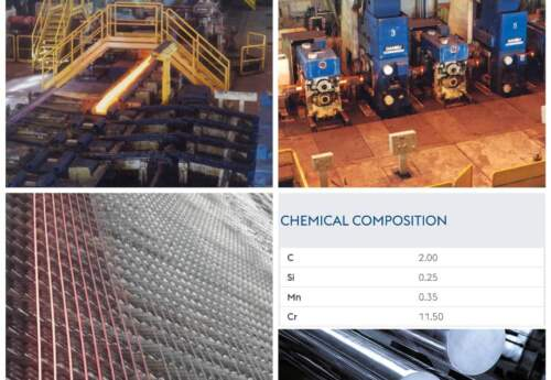 تولید فولاد ابزاری(۲۰۸۰S) با قطر ۱۴میلیمتر در کارخانه نورد سبک