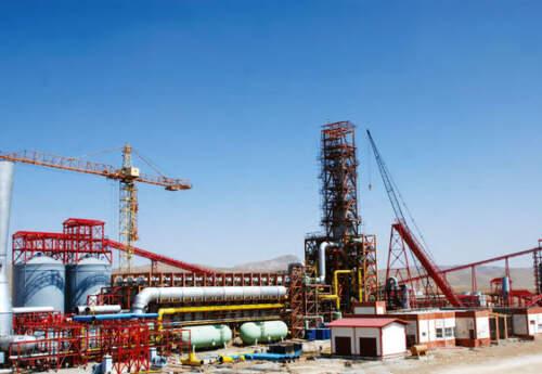 تولید ۲.۸ میلیون تن آهن اسفنجی در فولاد سفیددشت