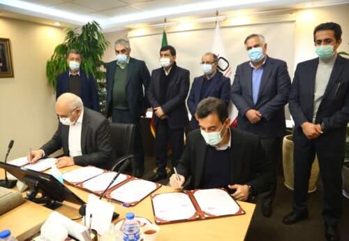 امضای قرارداد ساخت کارخانه دوم کنسانتره سنگ آهن اپال پارسیان