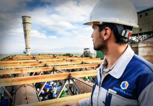 بارگذاری سیزدهیمن ریفرمر فولادی با کاتالیست شرکت نفت وگاز سرو