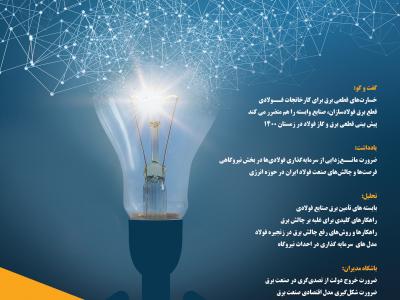 ویژهنامه چیلان با عنوان «چالش برق در زنجیره فولاد» منتشر شد