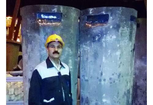 نخستین شمش با مقطع گرد در فولاد آلیاژی ایران تولید شد