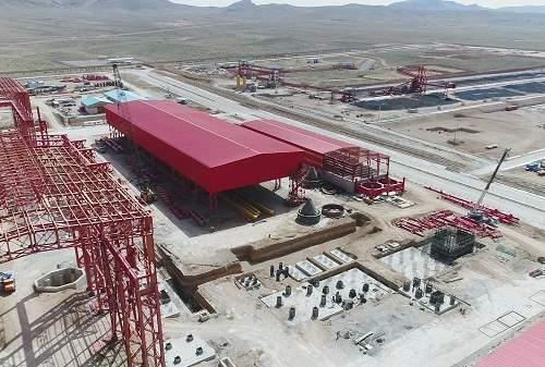 تکمیل یکی از طرح های هفت گانه فولادی کشور از نیمه گذشت