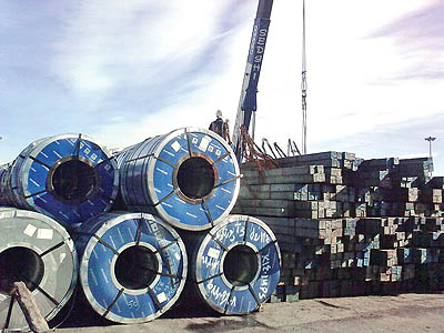 افزایش چهار برابری صادرات فولاد در دولت یازدهم