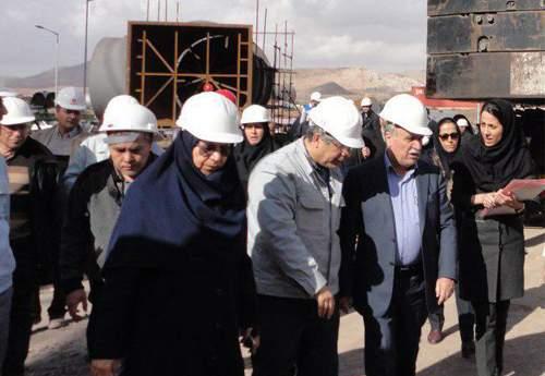 ابلاغ دستور صدور پروانه بهره برداری از فاز دوم فولادسازی خراسان