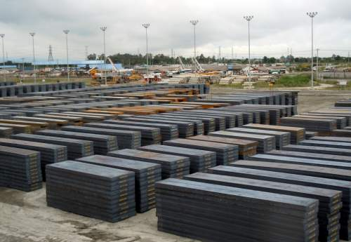 روسیه در ماه اکتبر ۲۵ درصد صادرات اسلب خود را افزایش می دهد