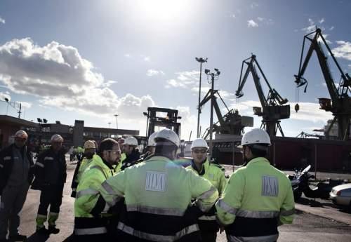 اعتراض کارگران بزرگترین کارخانه فولاد سازی ایتالیا