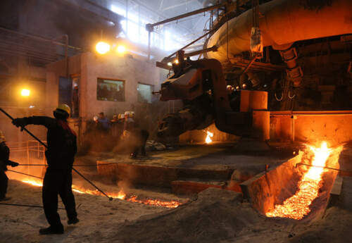 احداث کارخانه بزرگ فولاد در اردبیل