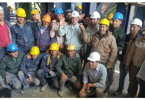 Khorasan Steel complex celebrates the official opening ceremony of Melt shop II