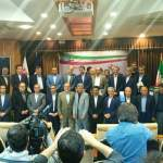 گزارش تصویری: رونمایی از سامانه جامع بومی سازی زنجیره آهن و فولاد ایران