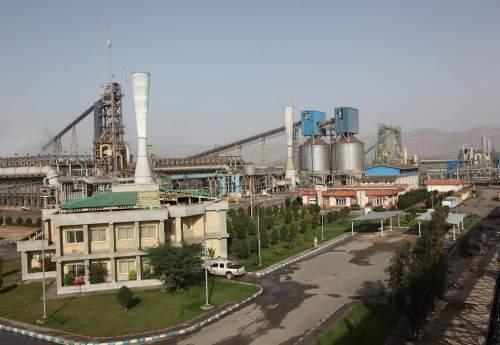 رکورد تولید آهن اسفنجی در فولاد هرمزگان شکسته شد