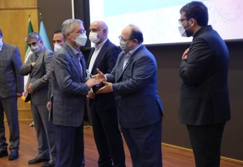 عنوان بنگاه اقتصادی ممتاز وزارت کار به ذوب آهن اصفهان رسید